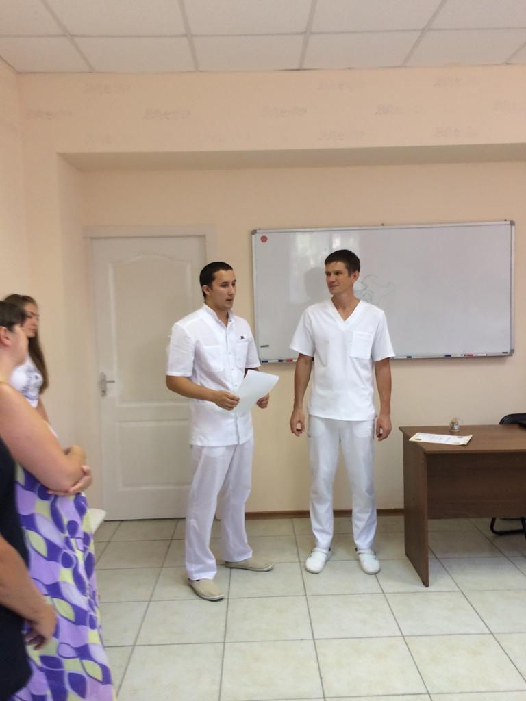 Вручение сертификатов Погорелов Д.Д.