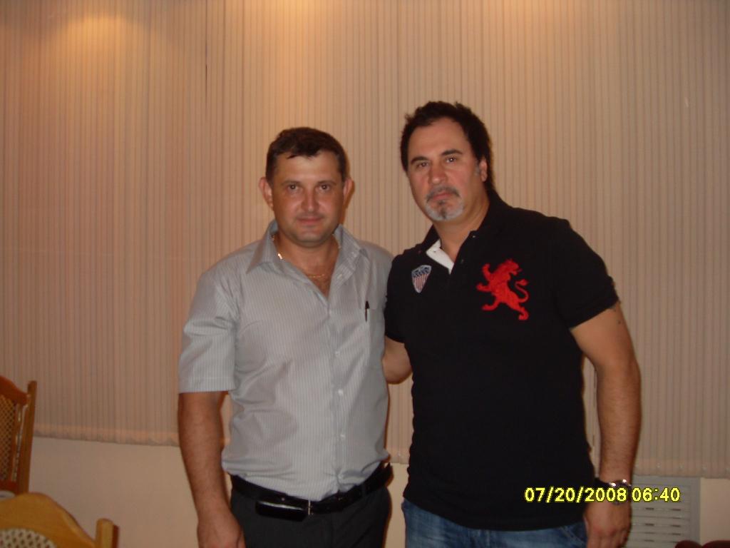 с Валерием Меладзе